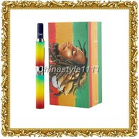 Wholesale Shisha Pen Boxes - New E Cigarette Bob Marley Luxury Box Kit Bob Marley 3 In 1 Vaporizer Pen Dry Herb Tank Shisha Smoking Pen Vaporizer