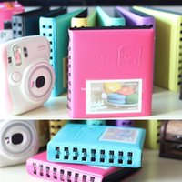 Wholesale Polaroid Photos - Free shipping 7 Colors Mini Polaroid Instax Photo Album for 3 Inch Photos