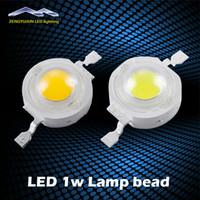 лампы накаливания оптовых-Свет шарика Сид наивысшей мощности 1W 100-120lm в лампы белый/теплый белый 300мА 3.2-3.4 в 100-120lm в 30mil Бесплатная доставка