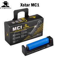 Wholesale interface monitoring - Authentic XTAR MC1 CHARGER SINGLE SLOT CHARGER Interface Temperature Monitoring System VS Nitecore I2 I4 D2 D4 TR-006 MC2 Dual Slot Charger