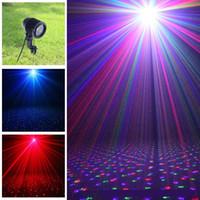 ingrosso proiettori di natale-Lampada laser IP65 per esterno, proiettore luci laser Elf light Christmas, luce RGB lucciola LED Proiettore impermeabile Lampada da giardino Graden