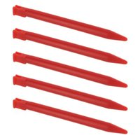 Wholesale Red Nintendo 3ds - Wholesale-5pcs RED Portable Touch Pen Plastic Stylus for Nintendo 3DS