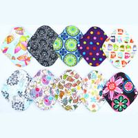 Wholesale Flow Large - [Sigzagor]Charcoal Bamboo Cloth Pads Heavy Flow Large 12inch Menstrual Sanitary Maternity Mama Pads, Reusable Washable,L 21 Choices
