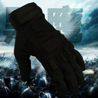 Wholesale Women S Tactical Gloves - Seibertron New Hell storm Military Tactical Police Shooting Airsoft Assault full finger Gloves Black size S M L XL 2XL