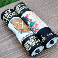Wholesale Scroll Pencil Case - Anime Attack on Titan Scroll Pencil Case Pencil Bags Anime Stationery