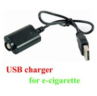 Wholesale Ecigarette Chargers - High Quality USB Battery Charger Cables for EGo Electronic Cigarette USB Chargers Cable for EGO-T EGO-W EGO-C Twist all Ecigarette