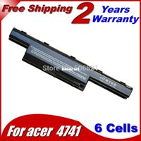 Wholesale Acer 4741 Battery - Free shipping- Laptop Battery For Acer Aspire 4733Z 4733ZG 4738 4738G 4738Z 4738ZG 4739 4739G 4739Z 4741 4741G 4741T 4741TG 4741Z 4743 4743G