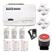 Wholesale Auto Dialer Wireless Home Security - Safearmed TM SF-604G GSM Wireless PIR Home Security Burglar Alarm System Auto Dialing Dialer SMS Call USA
