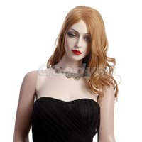 Wholesale Usa Wigs - USA hot sales wig women long blond wig hair and weaves stock Synthetic fiber of 100% Kanekalon 1pc Lot Free Shipping W2207