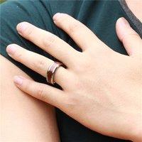 Wholesale Tungsten Steel Price - Jewelry priced direct new never worn carbon fibers fine tungsten steel ring WJ233