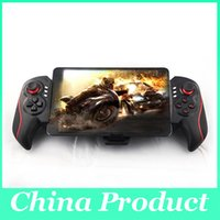 Wholesale Video Games Devices - New BTC-938 Wireless Telescopic Game Controller video game controller Gamepad Joystick Cell Phone Support 5-10 Inch Devices 010210