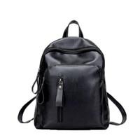 Wholesale leather backpack satchel korean - New Travel Backpack Korean Women Backpack Leisure Student Schoolbag Soft PU Leather Women Shoulder Bag Satchel Mochila