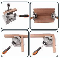 Wholesale Mounted Aquarium - NEW Hand Tool 90 Degrees Fix Right Angle Clip Angular Splint Swing Jaw Corner Clamp For Woodworking Frame Aquarium Mounting