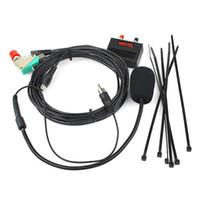 Wholesale Head Talkie - Walkie-talkie-vehicle Hands-free Microphone for ICOM IC2200H IC2720 IC2820 Car Sets 8-core Crystal Head J0353A Alishow