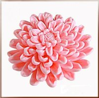 ECO Friendly blooming candle - 3D blooming chrysanthemums Flower Soap mold silicone molds mold soap candle molds handmade DIY tools