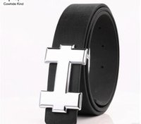Wholesale antique solid silver - 2017 New Mens Fashion Belts Leisure Business Casual Wild High Grade Luxury Pure Leather Antique Buckle Belts Hot Sale