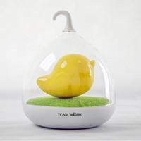 Wholesale Bird Lamps - Mini USB Decorative Baby Night LED Table Lamp Micro USB LED Light bird light night lighting