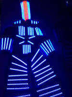Wholesale LED Costume LED Clothing Light suits LED Robot suits david robot customized