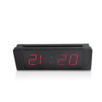 """Wholesale Park Clock - [Ganxin]1"""" Display 4 Digit for Popular High Quality Low Voltage Digital Wall Countdown Clock in Red Tube Automatic Parking clock"""