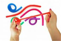 Wholesale String For Kids - hot sale Colorful Sensory Fidget Stretch Toys Stretchy String Fidget Sensory Tactile Toys for Adults Children