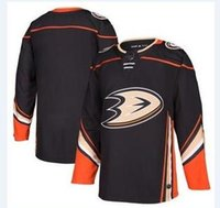 nhl hockey maillots pas cher Anaheim Canards Noir Authentique Custom Jersey magasin usa sports de hockey sur glace vierge backback gros chemises pas cher