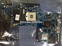 Wholesale Laptop Motherboard Graphics Chip - Wholesale-for hp DV7 DV7-6000 655489-001 laptop motherboard for intel cpu with 8 video chips non-Integrated graphics card