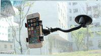 Wholesale Mobile Bag Mp3 - Long Neck Car Universal Mount, 360 ° car phone holder, 30pcs a bag
