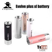 Authentische Yocan Evolve Plus XL 1400 mAh Batterie Gebaut In Silicon Glas Für Wachs Dab Pen Kits Elektronische Zigarette Batterie 100% Original
