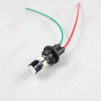 Wholesale Hid Light Xenon Adapter - T10 T15 W5W 194 168 Xenon SMD LED Light Bulb Wedge Wiring Socket Holder Connector Adapter Extension Harness Plugs For Car Truck Motorcycle