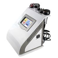 máquina de redução de gordura com ultra-som venda por atacado-máquina do emagrecimento do rf da cavitação 4 no corpo do RF do vácuo do ultra-som da cavitação 1port que dá forma à máquina gorda da redução