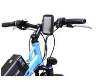 montaje del teléfono para el ciclo al por mayor-Ciclo de la caja del teléfono impermeable para iphone 4s 5s Note3 Bicicleta de la motocicleta Manillar de montaje en la caja resistente a la intemperie del montaje del teléfono Bolsa de teléfono