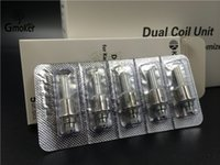 Wholesale Kanger Mini Protank Clearomizer - 100% Authentic Kanger Protank 3 coils updated dual Coil Head for mini aerotank mega protank 3 EVOD 2 T3D bdc dual coil clearomizer