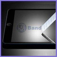 Wholesale D MM Top Quality Tempered Glass Screen Protector For ipad2 ipad3 ipad4 Explosion Proof Film Earphone Freeship