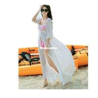 Wholesale Dress Beach Sarong Bikini - 1510 2015 Summer Dress Bikinis Set Boho Through Beach Dress Sarong Kaftan Tunic Women Swimwear Swimsuit Bikini Cover-ups One Piece