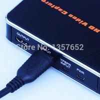 captura de video usb hdmi al por mayor-2015 nuevo convertidor HDMI 1080P, tarjeta de captura de video, convierte el juego a HDMI USB Driver directamente, no se requiere computadora Envío gratis