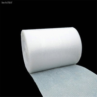 Wholesale Packing Materials - Wholesale-1m * 50cm Bubble Film   Bubble Roll   Shockproof Air Foam Roll   Foam Packaging Material, Packing Wrap For Shipping
