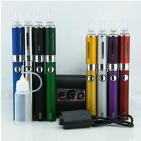 Wholesale double evod kits electronic cigarette resale online - Evod mt3 electronic cigarette starter kit Evod e cigarette kit electronic cigarettes Starter Kit Zipper Case Package Electronic Cigarette