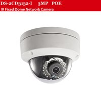 Wholesale Hikvision 3mp Ip Camera - 3MP IP camera DS-2CD2135F-IS with POE camera 30m Ir distance ip66 Support Hikvision NVR 8ch,security camera,cctv