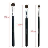 Happy Makeup 3 stücke Pro Make-Up Kosmetik Pony Pferd Haar Mix Größe Lidschatten Pinsel Augenbürste Set Kit Professionelle Werkzeuge