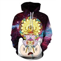Mens Frauen Sweatshirts Cartoon 3D Hoodies Unisex Raum Galaxy Pullover Anime Trainingsanzug Mit Kapuze Herbst Winter Oberbekleidung