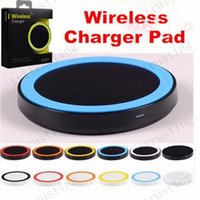 S6 Qi Wireless Charger Celular Mini Charge Pad Para dispositivo com capacidade Qi Samsung Galaxy S3 S4 S5 S6 Note2 / 3/4 Nokia HTC LG Iphone telefone MQ500