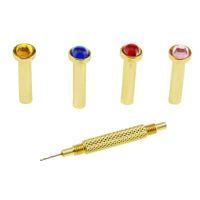 Wholesale Uv Gels Shop - Wholesale-Drill Hole Nail Art UV Gel Acrylic Tool Hand Dangle (Beads Color Random) B2C Shop