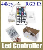 Wholesale Led Programmable Signs Wholesale - led controller 44 button 5v-24v rgb led controller programmable led dimmer controller ir remote control led signs remote control DT002