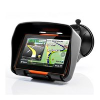 Wholesale Automotive Gps Systems - 4.3 Inch Motorcycle GPS Navigation System IPX7 Waterproof MT3351 Bulit in 4GB Internal Memory&Bluetooth use in All Terrain