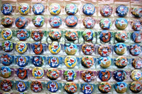 Wholesale Hijab Selling - sell new 216 pieces lot Brooch Pins Acrylic Cartoon Brooches Badges Hijab Pin Backpack Jewelry free shipping