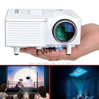NOVO Mini 1080P HD Multimídia LED Projetor Home Cinema Teatro AV TV VGA HDMI USB SD
