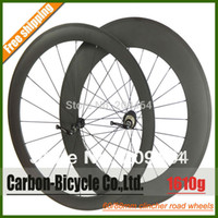 Wholesale Only g ultra light mm clincher bike wheelset c carbon fiber road racing bicycle wheels