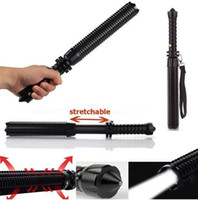 Wholesale Baseball Bat Lamp - Wholesale-6500LM CREE Q5 LED Spiked Mace Baseball Bat Long Flashlight Torch Lamp 3 Mode