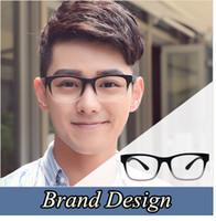 Wholesale plain glass spectacles frame designs for sale - Brand Design Eyewear Frames eye glasses For Men frames Male eyeglasses Computer optical Spectacle frame Myopia Plain Glass