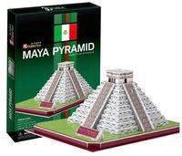 Wholesale Modelling Maya - Wholesale-Supernova Sales Birthday gifts,educational puzzle toys,3D paper model,World Architecture series,Paper craft,Maya Pyramid